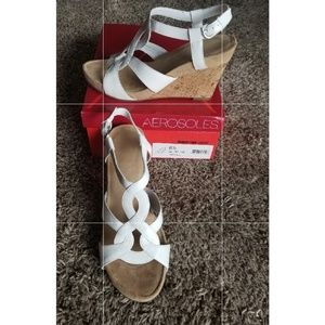 Aerosoles cream wedges